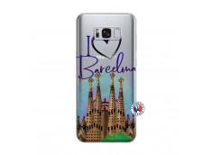 Coque Samsung Galaxy S8 Plus I Love Barcelona