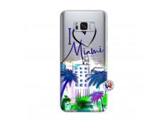 Coque Samsung Galaxy S8 Plus I Love Miami