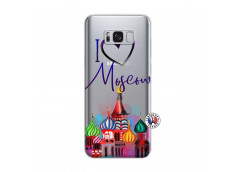 Coque Samsung Galaxy S8 Plus I Love Moscow
