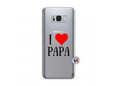 Coque Samsung Galaxy S8 Plus I Love Papa