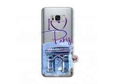 Coque Samsung Galaxy S8 Plus I Love Paris Arc Triomphe