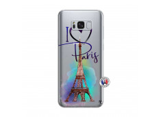 Coque Samsung Galaxy S8 Plus I Love Paris