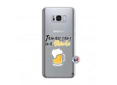 Coque Samsung Galaxy S8 Plus Jamais Sans Ma Blonde
