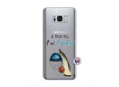 Coque Samsung Galaxy S8 Plus Je peux pas j'ai cricket