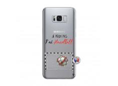 Coque Samsung Galaxy S8 Plus Je peux pas j'ai Handball