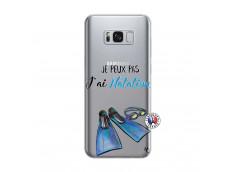 Coque Samsung Galaxy S8 Plus Je Peux Pas J Ai Natation