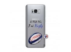 Coque Samsung Galaxy S8 Plus Je Peux Pas J Ai Rugby