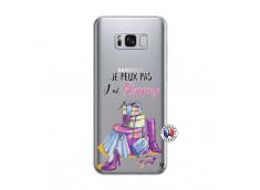 Coque Samsung Galaxy S8 Plus Je Peux Pas J Ai Shopping