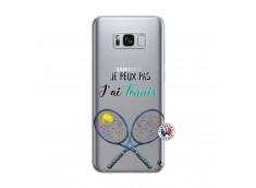 Coque Samsung Galaxy S8 Plus Je Peux Pas J Ai Tennis
