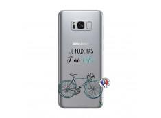 Coque Samsung Galaxy S8 Plus Je Peux Pas J Ai Velo