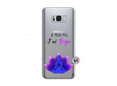 Coque Samsung Galaxy S8 Plus Je Peux Pas J Ai Yoga
