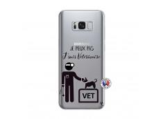 Coque Samsung Galaxy S8 Plus Je Peux Pas Je Suis Veterinaire