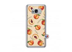 Coque Samsung Galaxy S8 Plus Sorbet Pêche Translu