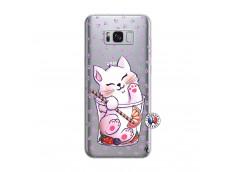 Coque Samsung Galaxy S8 Plus Smoothie Cat