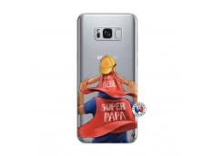 Coque Samsung Galaxy S8 Plus Super Papa et Super Bébé