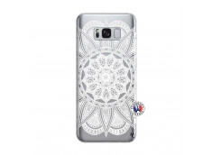 Coque Samsung Galaxy S8 Plus White Mandala