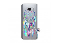 Coque Samsung Galaxy S8 Blue Painted Dreamcatcher