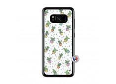 Coque Samsung Galaxy S8 Le Monde Entier est un Cactus Translu