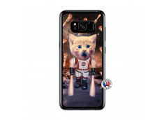 Coque Samsung Galaxy S8 Cat Nasa Translu