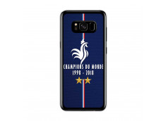 Coque Samsung Galaxy S8 Champions Du Monde 1998 2018 Transparente