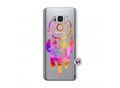 Coque Samsung Galaxy S8 Dreamcatcher Rainbow Feathers