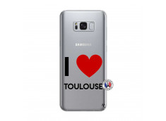 Coque Samsung Galaxy S8 I Love Toulouse