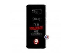 Coque Samsung Galaxy S8 J Peux Pas J Ai Un Braquage Avec Le Professeur