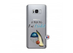 Coque Samsung Galaxy S8 Je peux pas j'ai cricket