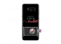 Coque Samsung Galaxy S8 Je peux pas j'ai Handball