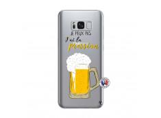 Coque Samsung Galaxy S8 Je peux pas J'ai la Pression