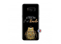 Coque Samsung Galaxy S8 Je Peux Pas J Ai Rando
