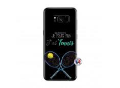 Coque Samsung Galaxy S8 Je Peux Pas J Ai Tennis