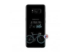 Coque Samsung Galaxy S8 Je Peux Pas J Ai Velo
