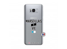 Coque Samsung Galaxy S8 Marseillais à Vie