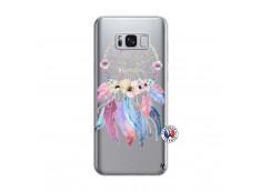 Coque Samsung Galaxy S8 Multicolor Watercolor Floral Dreamcatcher
