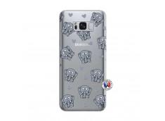 Coque Samsung Galaxy S8 Petits Elephants