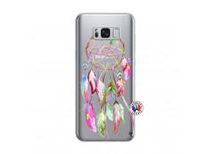 Coque Samsung Galaxy S8 Pink Painted Dreamcatcher