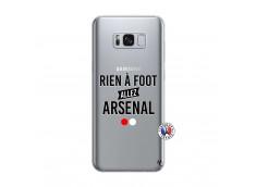 Coque Samsung Galaxy S8 Rien A Foot Allez Arsenal