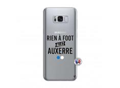 Coque Samsung Galaxy S8 Rien A Foot Allez Auxerre