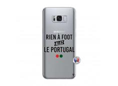 Coque Samsung Galaxy S8 Rien A Foot Allez Le Portugal