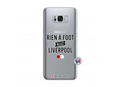 Coque Samsung Galaxy S8 Rien A Foot Allez Liverpool
