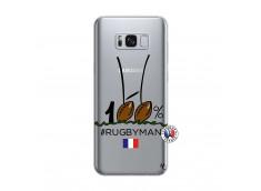 Coque Samsung Galaxy S8 100 % Rugbyman Entre les Poteaux
