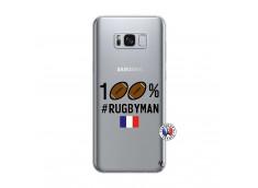 Coque Samsung Galaxy S8 100% Rugbyman