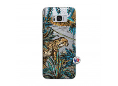Coque Samsung Galaxy S8 Leopard Jungle