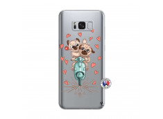 Coque Samsung Galaxy S8 Puppies Love