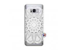Coque Samsung Galaxy S8 White Mandala