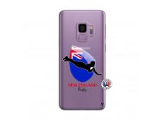 Coque Samsung Galaxy S9 Plus Coupe du Monde Rugby- Nouvelle Zélande