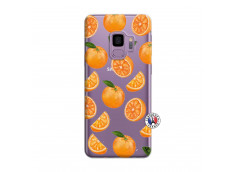 Coque Samsung Galaxy S9 Plus Orange Gina
