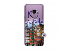 Coque Samsung Galaxy S9 Plus I Love Amsterdam