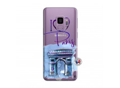 Coque Samsung Galaxy S9 Plus I Love Paris Arc Triomphe